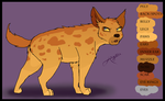 Hyena OC Contest Entry by Anyahs