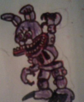 Adventure Twisted Bonnie by FreddleFrooby