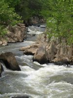 Great Falls of the Potomac 20 by Dracoart-Stock