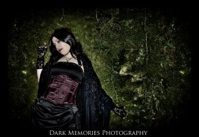 Portrait of  gothic Countess by DarkMPhotography