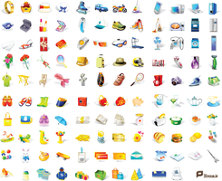 120_Vector_Icons With Eps , Ai by p30room