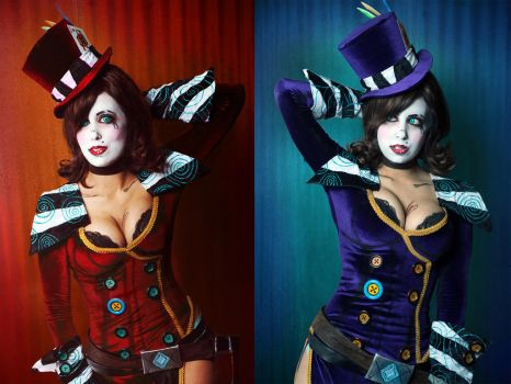 Mad Moxxi Cosplay: Jump Through Time by Khainsaw