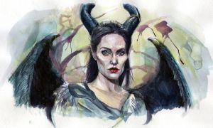 Maleficent by demi-god666