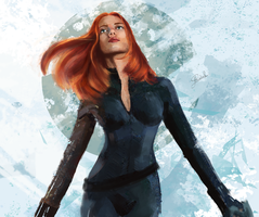 Marvel Black Widow by RoanNna