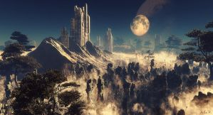 Unknown Civilization by mymindcircuz