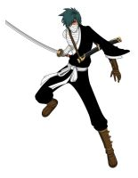 Mazo Itasachi- Bleach OC by Jarein