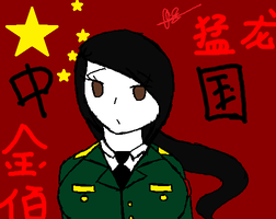 For Once I Drew Something Chinese Based by ezioauditore115