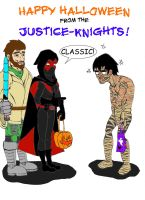 Justice-Knights Halloween 2010 by OrionSTARB0Y