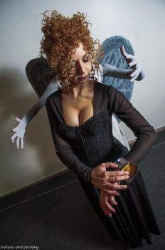 River Song Cosplay - Angels take Manhattan by SidneyRobin