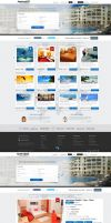 Travel Web Design by vasiligfx