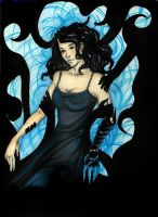 Falling in the black by Raniana