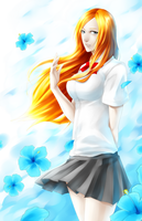 Orihime. Hibiscus by xync