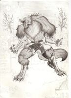 Werewolf Yugo by TheRaevyn13