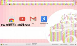 'Colorfull' Tema Google Chrome by GirlWithSWAG