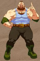 Hyper Brawlers: Zangief by Jiggeh