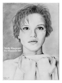 Molly Ringwald by cokeglass