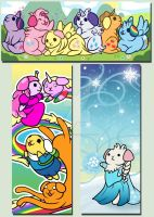 Guinea Pig Bookmarks: Fanart by Nine-Tailed-Fox