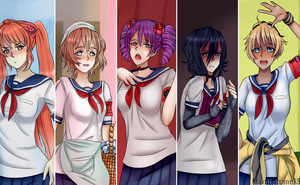 Yandere Sim Rivals [Finished] by MakuHatsune19