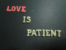 Love is Patient 2 by Vallia