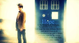 Eleventh Doctor.Hope. by Emrys141