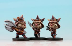 Orc Fighters by MiniatureMistress