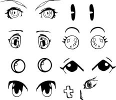 Vector Anime Eyes by hetoan2
