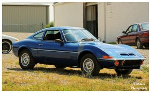 A Cool Blue Opel GT by TheMan268