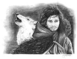 Jon Snow by juelshaness