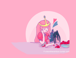 Bubbline Wallpaper by LizLeeLi