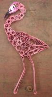 Flamingo - Quilling by Rockish21