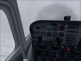 Braving Foggy Weather Over The English Channel by Dj-Equestrian-LP-Fan