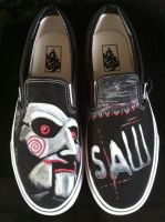 Saw Vans Billy Puppet by VeryBadThing