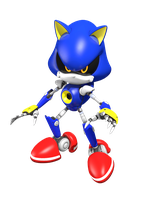 Metal the Sonic by DoodleyStudios