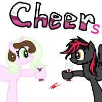 Cheers by ZoruaAWESOME