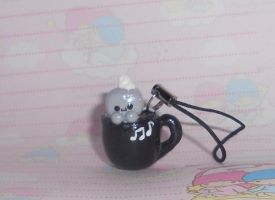 Robot in a Mug Charm by Love-Who