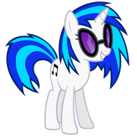 Vinyl Scratch Vector by Ashidaru