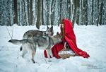 Little Red Riding Hood III by Miss-Bo