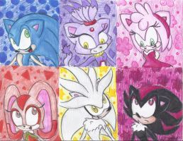 Sonic and Co. by Lilymint7