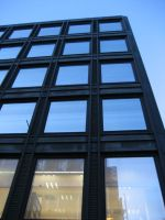 the sky behind the windows by pemmi