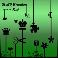 Stalk Brushes New Set 1 by KaiPrincess