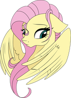 Fluttershy Vector by Bork88