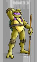 Donatello by maskedferret