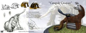 catapult creature by Tex-Tin-Star