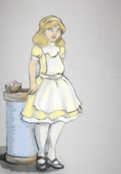 Traditional Color Alice by Kunsthaus
