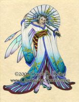 Dragonfly Geisha by MisticUnicorn