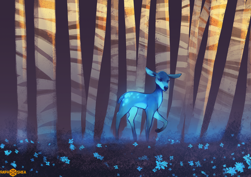 Forest Spirit by RaphShea