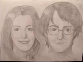 Lily and James by colloween