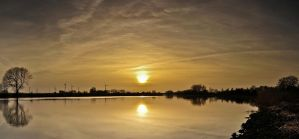 Pano Sun ball over the Stoer by Bull04