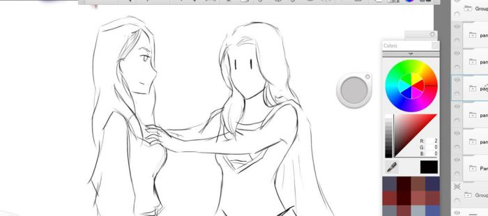 Kara that is Sexual Harrassment WIP by trufflemunchies13
