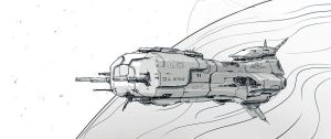 W20131215 - Spaceship by StMan